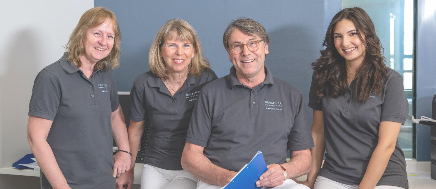 Das Team von Drescher Orthopädie