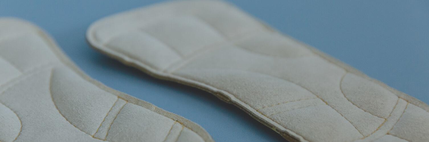 Sensomotorische Einlagen zur orthopädischen Behandlung